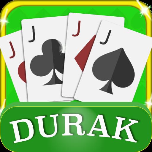Durak card game icon